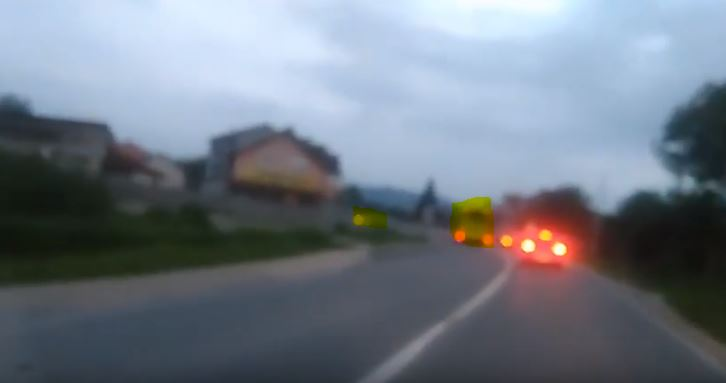 Autobus divljao magistralnim putem od Tršića do Čelopeka (VIDEO)