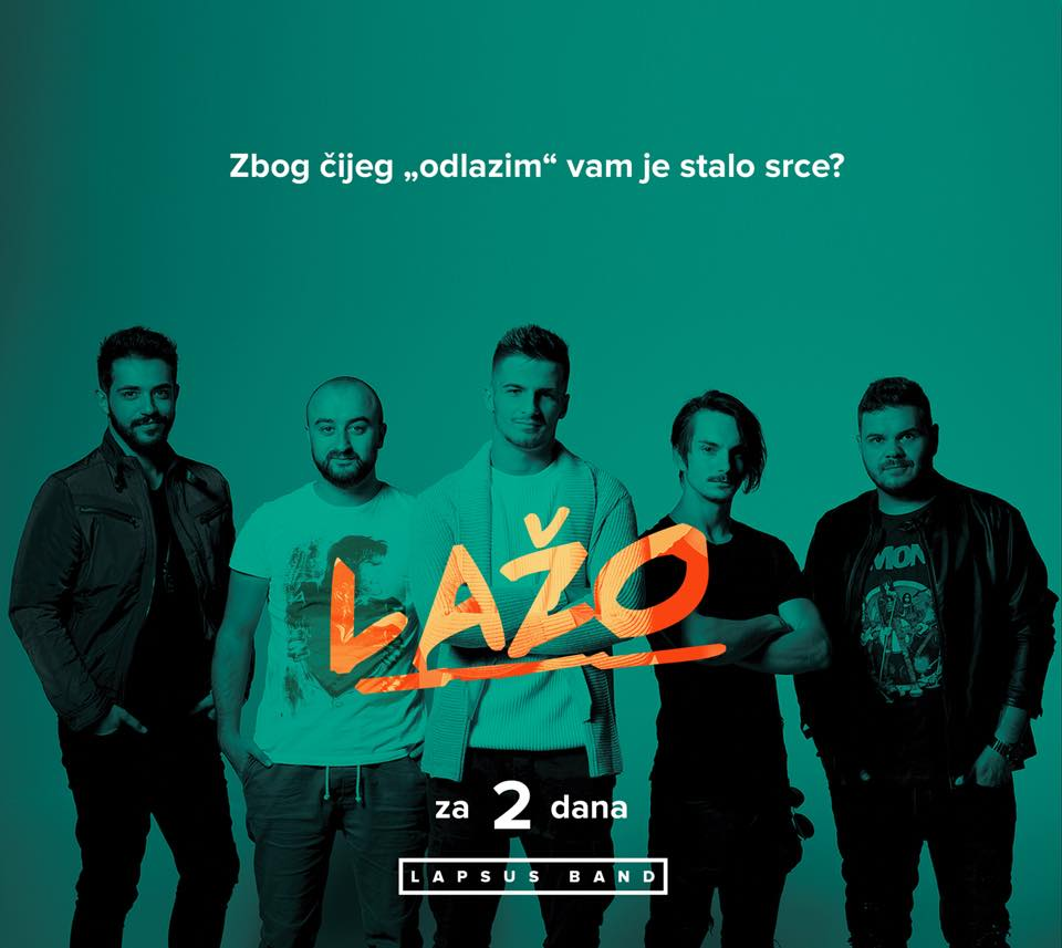 """Lapsus bend"" izbacio novi hit ""LAŽO"" (VIDEO)"